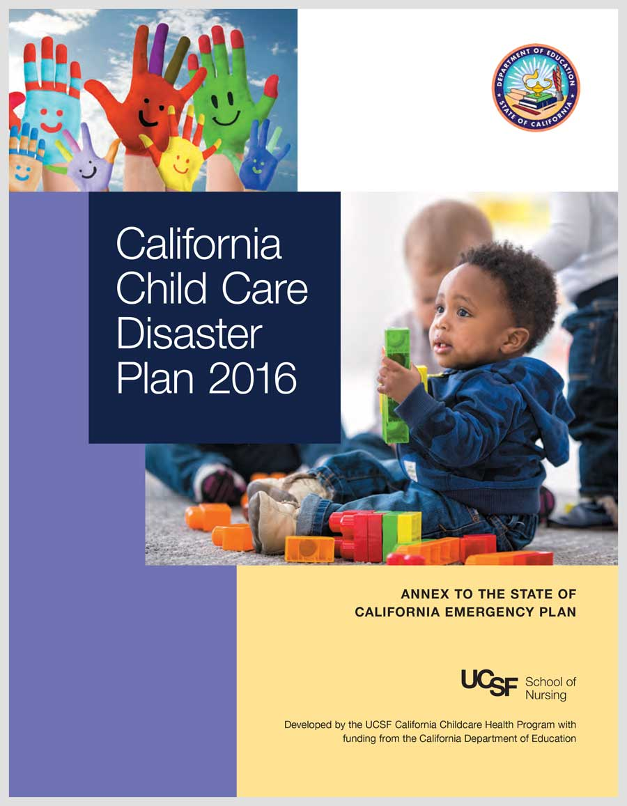 California Child Care Disaster Plan