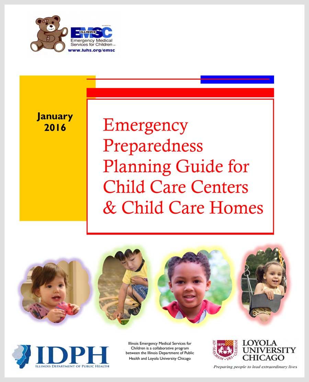 Guía de Planificación para Preparación ante Emergencias para Centros de Cuidado Infantil