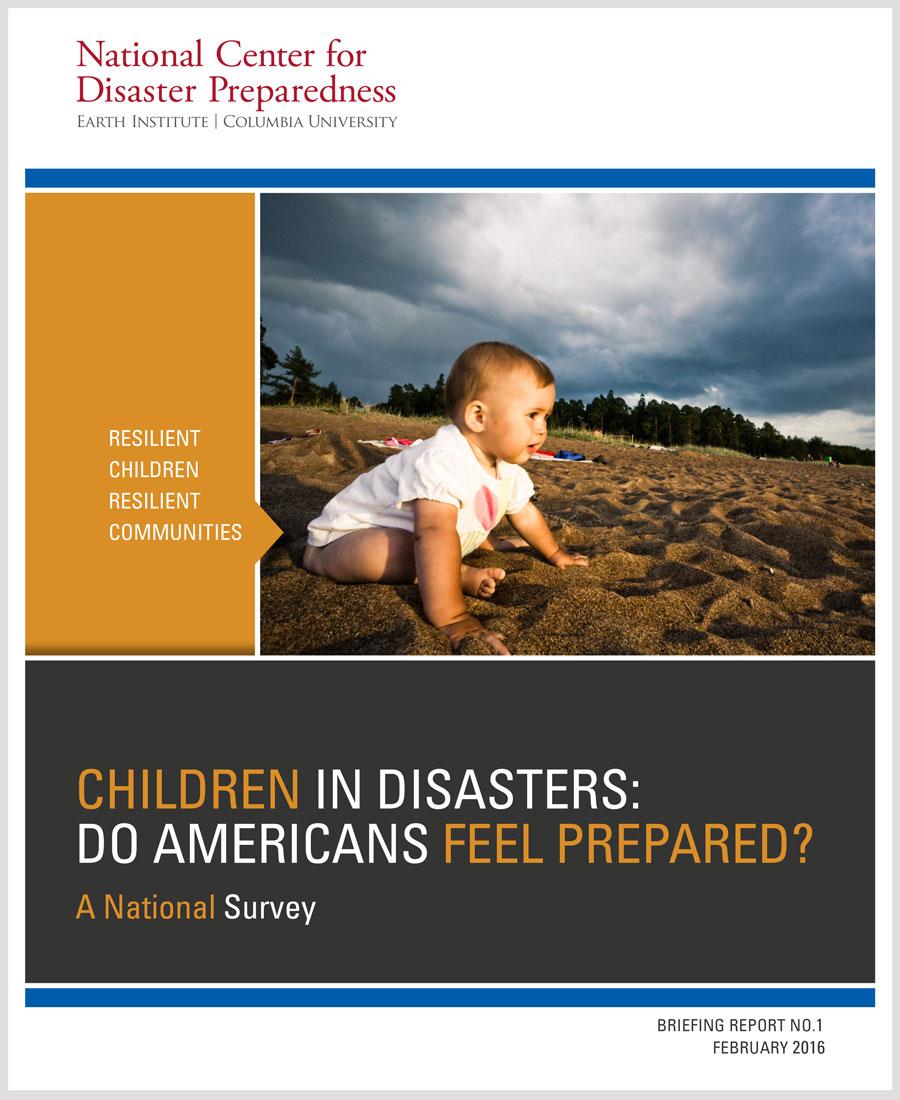 Niños en Desastres: ¿Se Sienten Preparados los Estadounidenses?