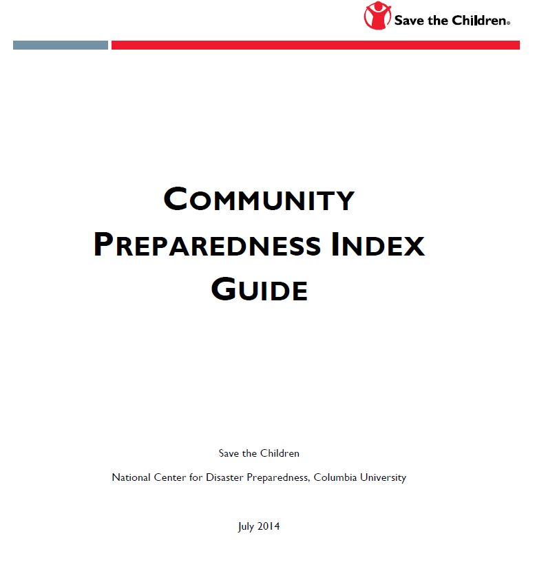 Community Preparedness Index: Guide