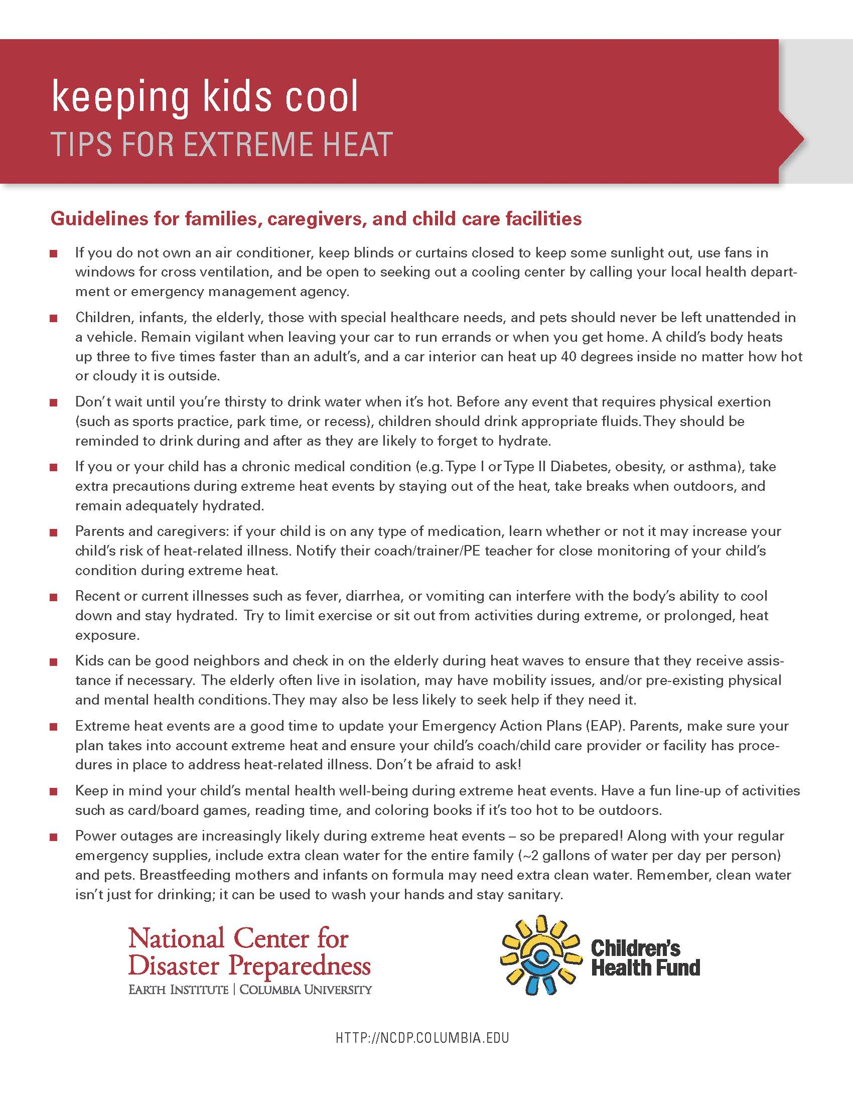 Keeping Kids Cool: Tips for Extreme Heat