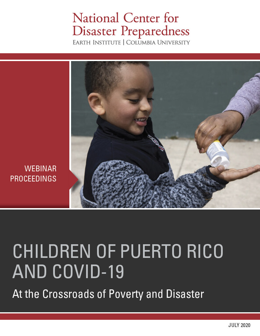 Webinar Proceedings: Children of Puerto Rico and COVID-19: At the Crossroads of Poverty and Disaster